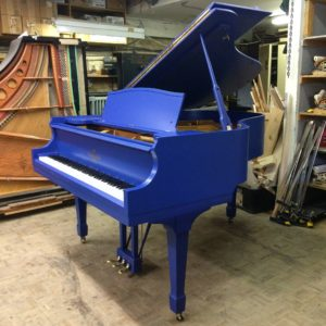 Heintzman Grand in 'Yves Klein Blue'