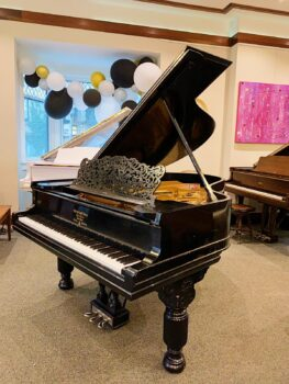 1897 Steinway & Sons Grand Model A57 in Satin Ebony