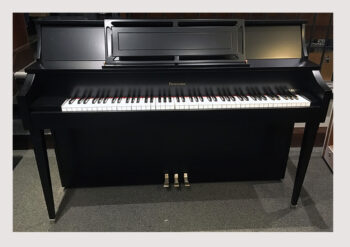 1976 Heintzman Acadian Upright Piano in Satin Ebony