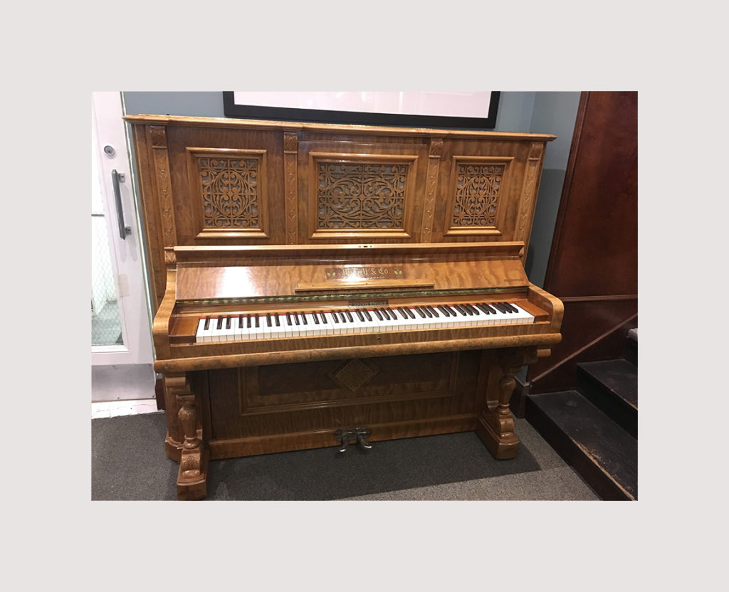 W. Bell & Co. piano