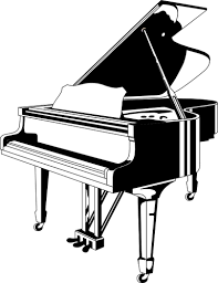 Grand piano placemarker