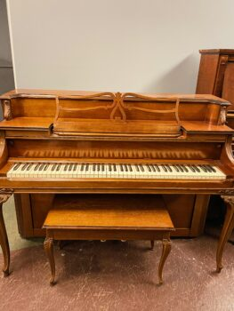 1951 Heintzman Upright Model Yorke in Mahogany