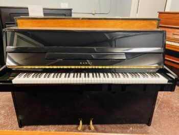 1985 Kawai Upright Model CX-4S in Polished Ebony