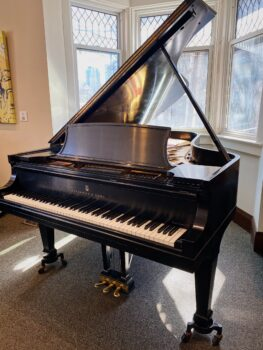 1966 Steinway & Sons Model B in Satin Ebony
