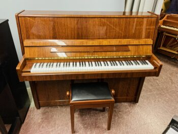 2001 Rieger-Kloss Upright Model 118 in High Gloss Walnut