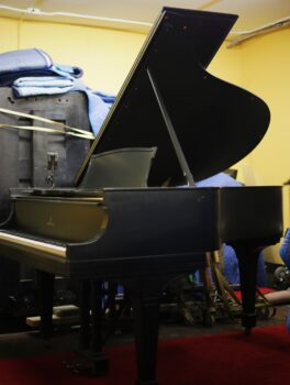 1916 Steinway & Sons Grand Model O in Satin Ebony