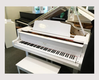 1988 Weber Grand Model WG-57 in Glossy White