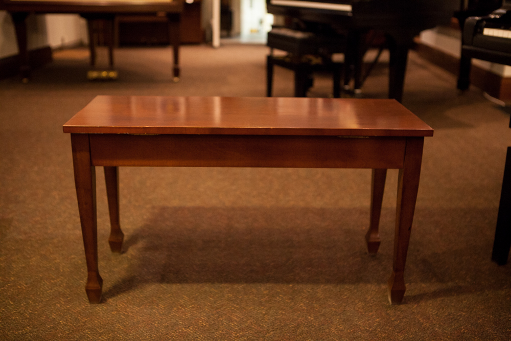 Spade Leg Piano Bench Made In Canada