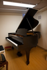 "The Steinway ""M"" in the Paul Hahn Studio"